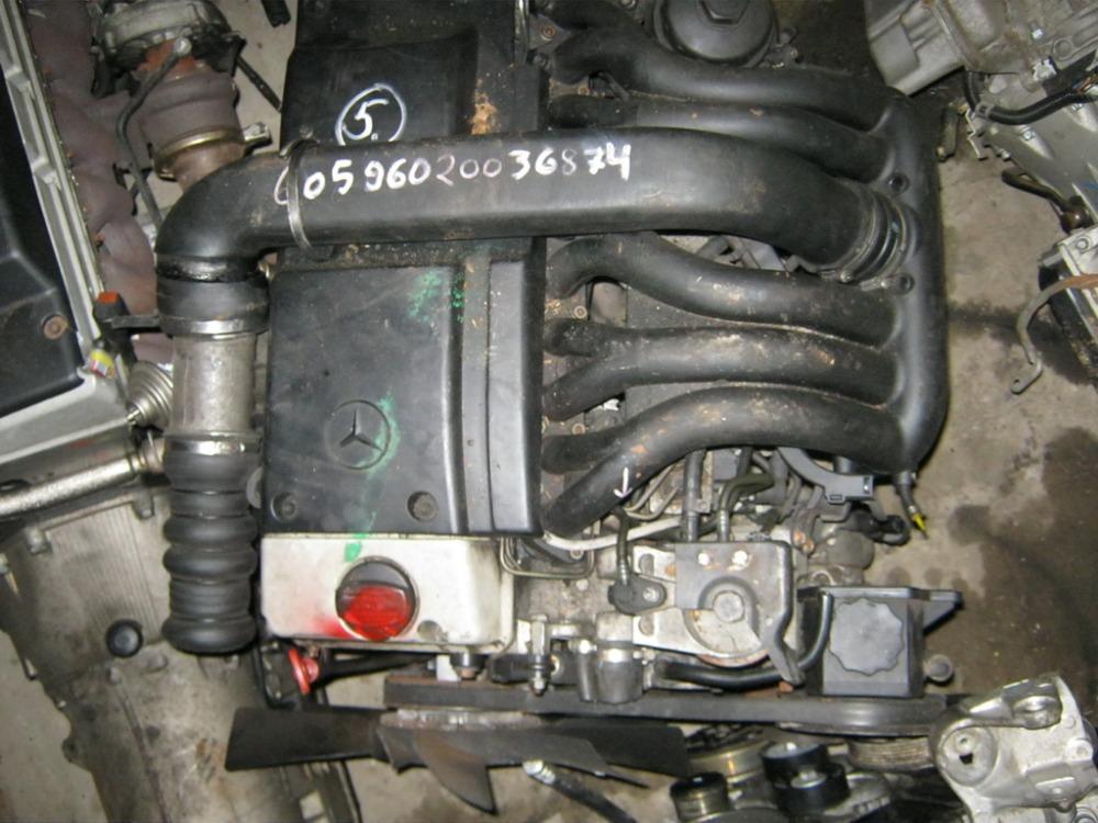 Купить бу двигатель двигатель мотор для легкового авто mercedes 124 ом 601 602 603 605 606 детали по телефону в